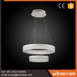 Erstklassiges Aluminium-LED Anhänger-Licht des Kaffee-2-Wide-Ring