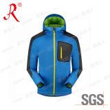 Куртка Softshell напольных людей верхнего качества с Hoody (QF-4045)