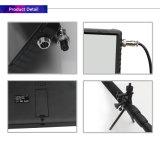 Pólo telescópico portátil 5MP 1080P Digital HD sob o sistema de inspeção de veículos com 2 câmeras HD