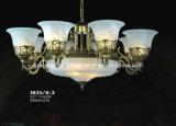 照明工場装飾のペンダント灯ガラスのシャンデリア