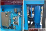 정지되는 2단계 회전하는 나사 고압 공기 압축기