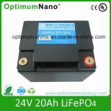 preço de fábrica 24V 20AH LiFePO4 Bateria para UPS ou E-bike