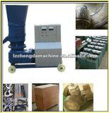 木製の餌を作る機械
