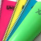 Libreta de encargo del cuaderno espiral de los PP del color de la insignia