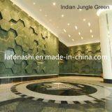 Индийский зеленый сляб мрамора джунглей для плитки пола