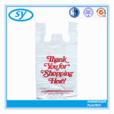 HDPE 인쇄되는 고객의 색깔을%s 가진 플라스틱 쇼핑 백