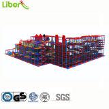 O tipo de floresta na selva colorido grande tamanho crianças playground coberto com crianças playground coberto Preço a partir de Boas Factory