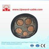 Tipo de alta tensão de cobre 11 de XLPE quilovolts de cabo distribuidor de corrente
