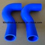Tubo flessibile di radiatore flessibile su ordinazione della gomma di silicone per il ricambio auto