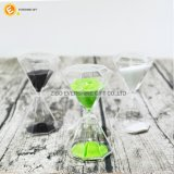 El reloj de arena para regalos reloj de arena de cristal decorativo para el hogar
