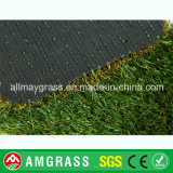極度の品質の総合的な草の泥炭、庭のための40mmの美化の人工的な草