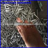clou de coupure en acier concret de 8d 2-1/2 '' avec le point épointé et la partie lisse conique