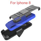 iPhone 8のケースのためのホルスターのBletクリップ携帯電話の箱