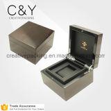 Alta qualidade feita na caixa de relógio de madeira da laca feita sob encomenda de China