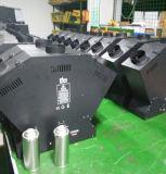 Máquina de Sprayfire do efeito de estágio do controlador das cabeças DMX do disco 3 do DJ