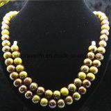 De in het groot Juwelen van de Parels van de Juwelen van de Manier, Modellen van de Halsband van de Dames van Parels de Populaire, de Veelkleurige Halsband van de Parel
