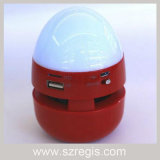 LED 다채로운 빛 무선 Bluetooth 스피커 계란 같이