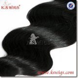 最上質の人間の毛髪の拡張バージンのブラジル人の毛