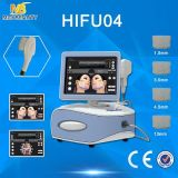 Cara do dispositivo da beleza da classe elevada que aperta o uso quente Hifu