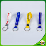 Silicón de encargo Keychain de la insignia para el surtidor de la fábrica