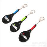 3D segna il PVC con lettere su ordinazione Keychain di gomma di marchio per i regali promozionali (YB-K-016)