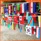 깃발을 묶는 도매 애국적인 폴리에스테 캐나다에 싼 기계