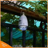 indicatore luminoso di lampadina solare 12LED per la tenda di campeggio domestica dell'interno del giardino