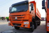 40tons Sinotruk HOWO 8X4 371HPのダンプかダンプカートラックの中国の工場