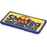 Fábrica profesional parche bordado del logotipo de diseño personalizado