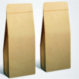Sacs latéraux de module de café de papier de Guesset emballage avec la soupape