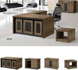 옆 측 반환을%s 가진 마분지 사무실 책상 매니저 테이블 사무용 가구 세트 행정상 테이블