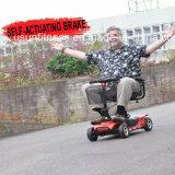 vespa eléctrica de cuatro ruedas invalidada 200W de la movilidad para una más vieja gente
