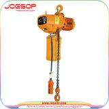 Hhbb a fixé le type le type à chaîne unique de 3t élévateur à chaînes électrique avec le crochet