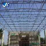 Estructura de acero ligera de la cortina para el taller