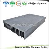 Fluorocarburo di alta qualità che spruzza dissipatore di calore di alluminio sporto