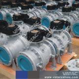 Form-Stahl Wcb, Wcc, Lcb, Lcc Drehzapfen-Kugelventil mit HF oder Bw
