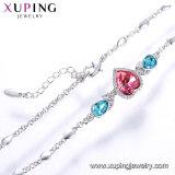 De Kristallen van de Luxe van de Armband van de Juwelen van de Manier van Xuping van de Eenvoudige Nieuwe Armbanden van het Kristal van Modellen Swarovski