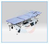 6つのセクション/高さAdjustable/onの足車が付いているGeneral Electric療法表