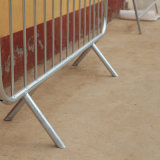 Controllo di folla d'acciaio galvanizzato dei piedi della branca di sicurezza che recinta le barriere