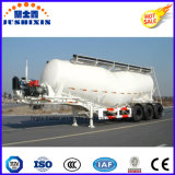 3 ESSIEUX 35cbm 45tonne sèche pétrolier de cendres volantes avec compresseur à air de remorque