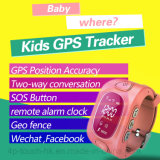 즉시 추적을%s 가진 최신 판매 아이 GPS 추적자 시계 (H3)