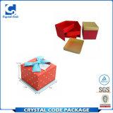 Rectángulo de regalo elegante de calidad superior de la joyería