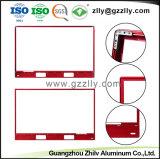 Espulsione di alluminio anodizzata 6063 degli accessori del blocco per grafici della TV