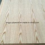 Chapa de madera contrachapada de Naturtal / Cara de contrachapado de roble rojo