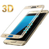 3D 9h incurvée de la dureté du film en verre trempé pour Samsung S6 Bord/plus