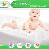 100%の防水通気性のブロックの塵のダニのアレルゲンは綿のテリー柔らかいカバー完全な赤ん坊のマットレスパッドカバーを滑らかにする