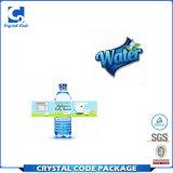 Collant en plastique coloré écologique d'étiquette de bouteille d'eau
