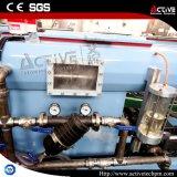 Ligne jumelle conique d'extrusion de PVC de vis de grande capacité