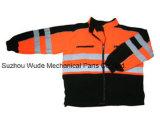 Uja018100% 폴리에스테 반대로 Pilling 극지 양털 외투 사려깊은 피복 Parka 비옷 Worksuit 재킷