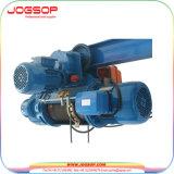 élévateur électrique de câble métallique du monorail 5t avec élévateur à deux vitesses/électrique